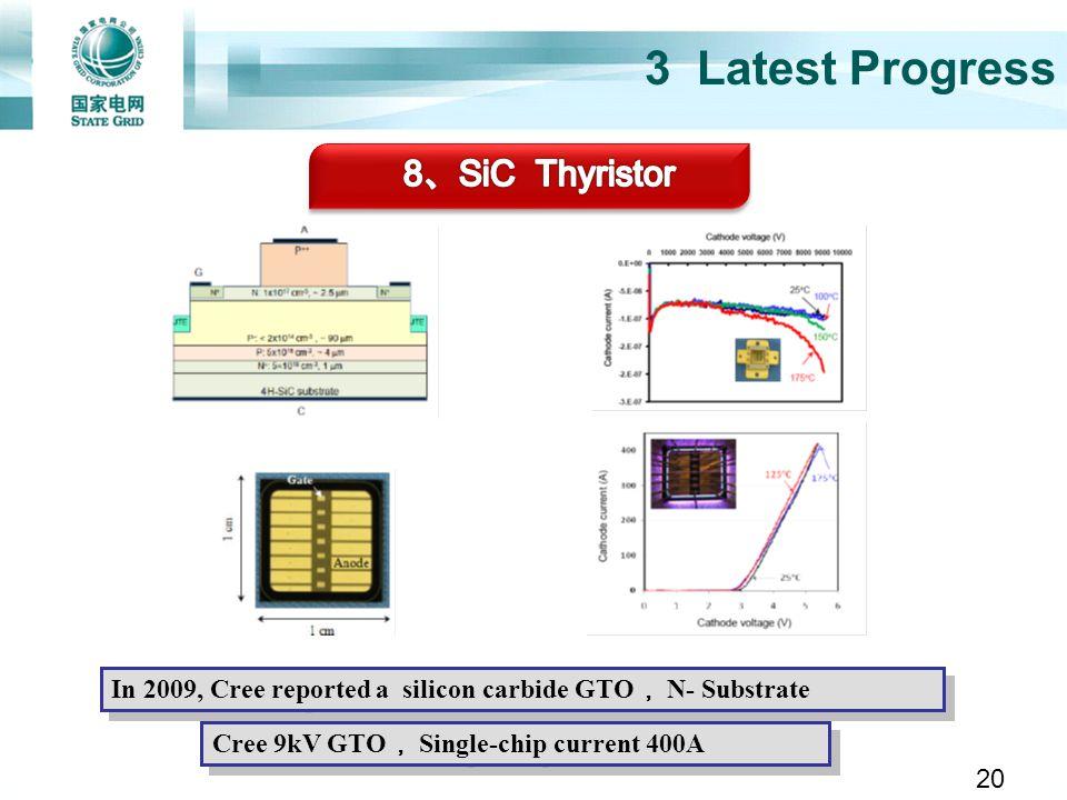 3 Latest Progress 8、SiC Thyristor