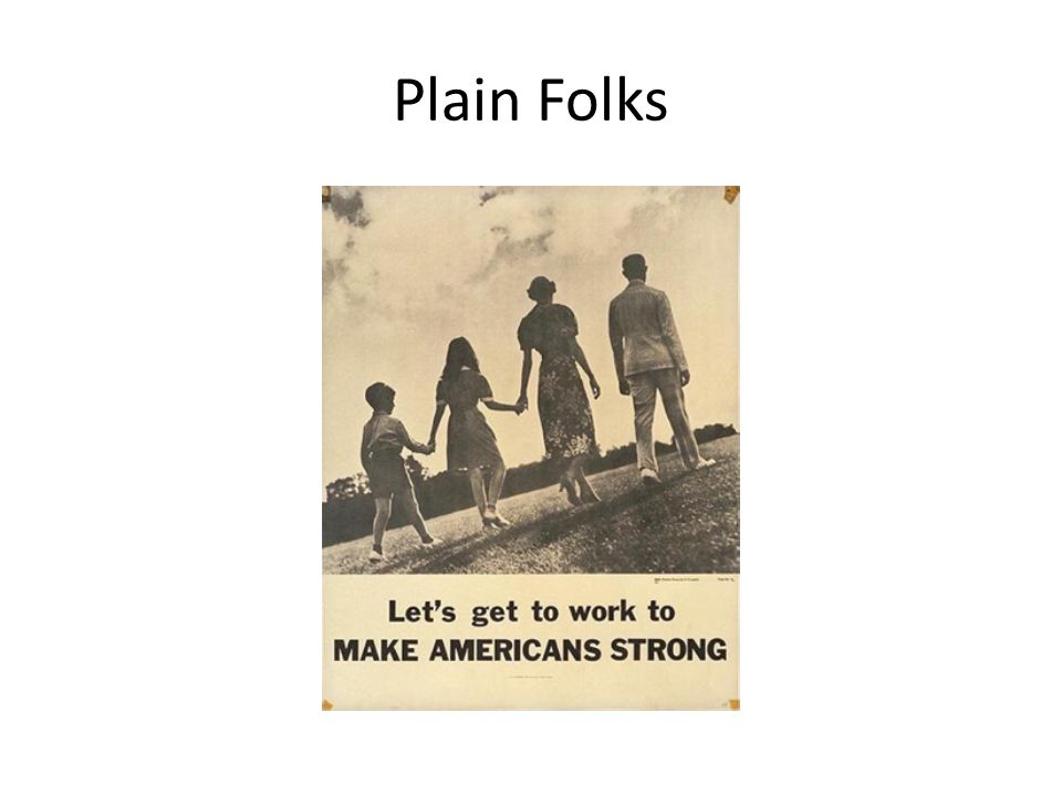 Plain Folks