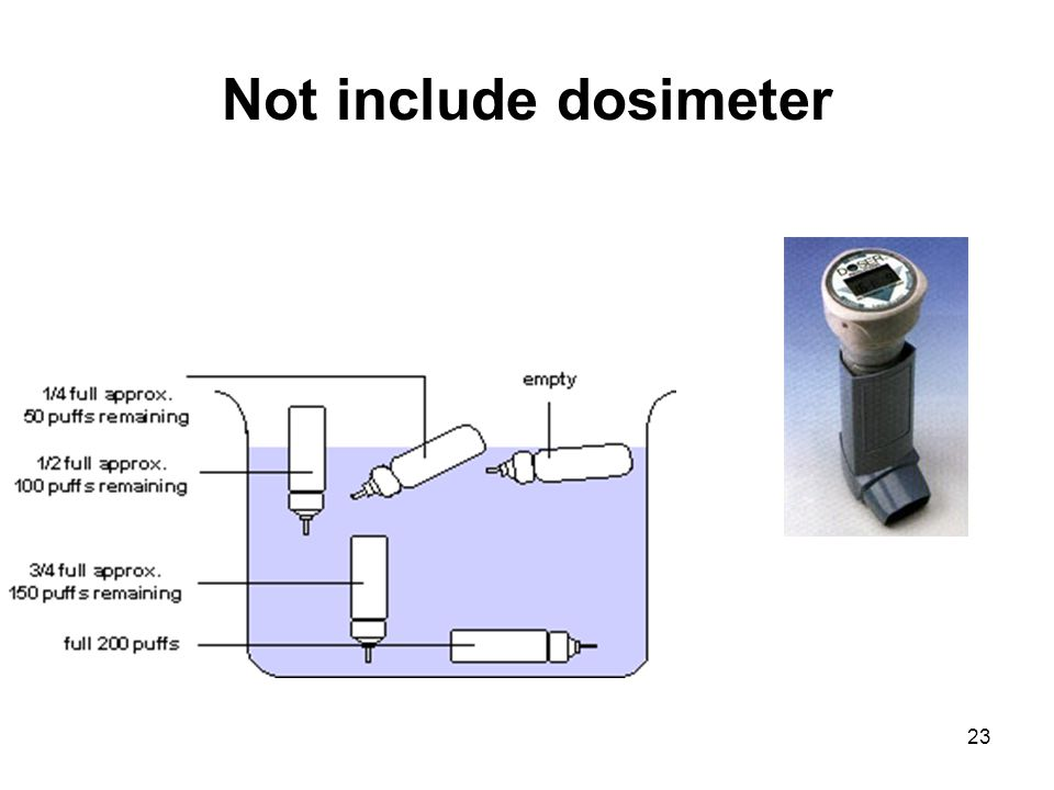 Not include dosimeter