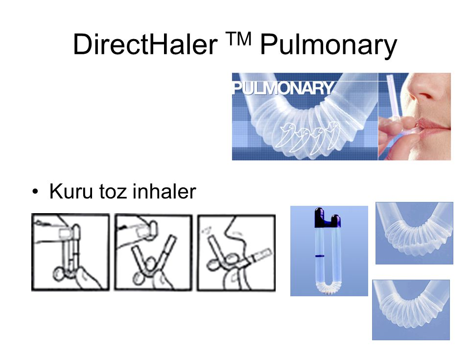 DirectHaler TM Pulmonary