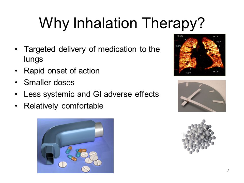 Why Inhalation Therapy