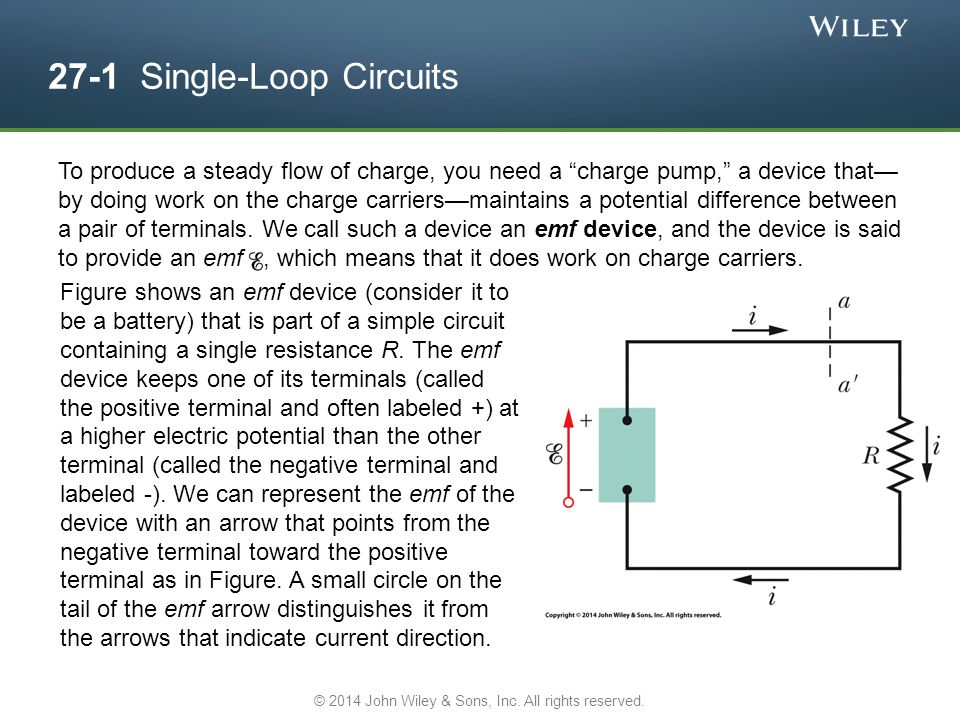 27-1 Single-Loop Circuits