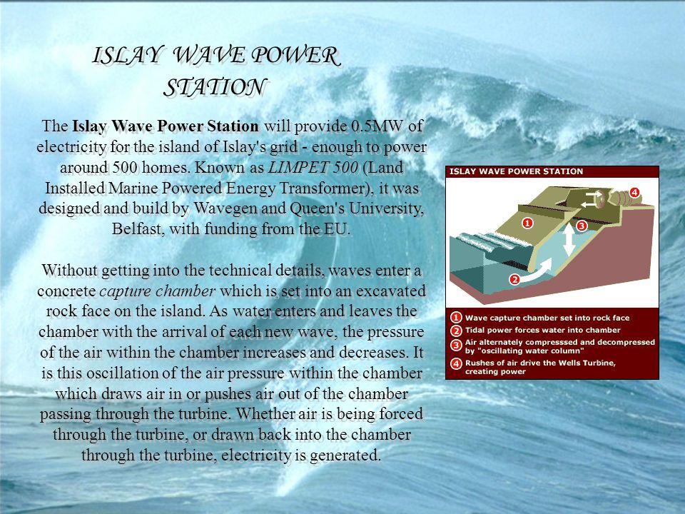 ISLAY WAVE POWER STATION