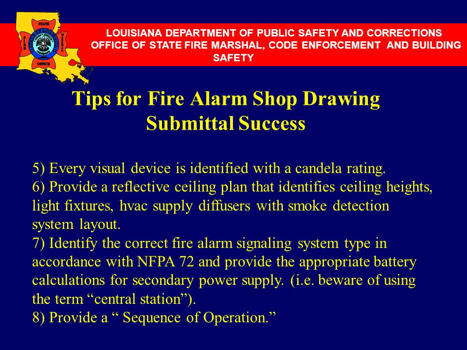 Tips for Fire Alarm Shop Drawing Submittal Success