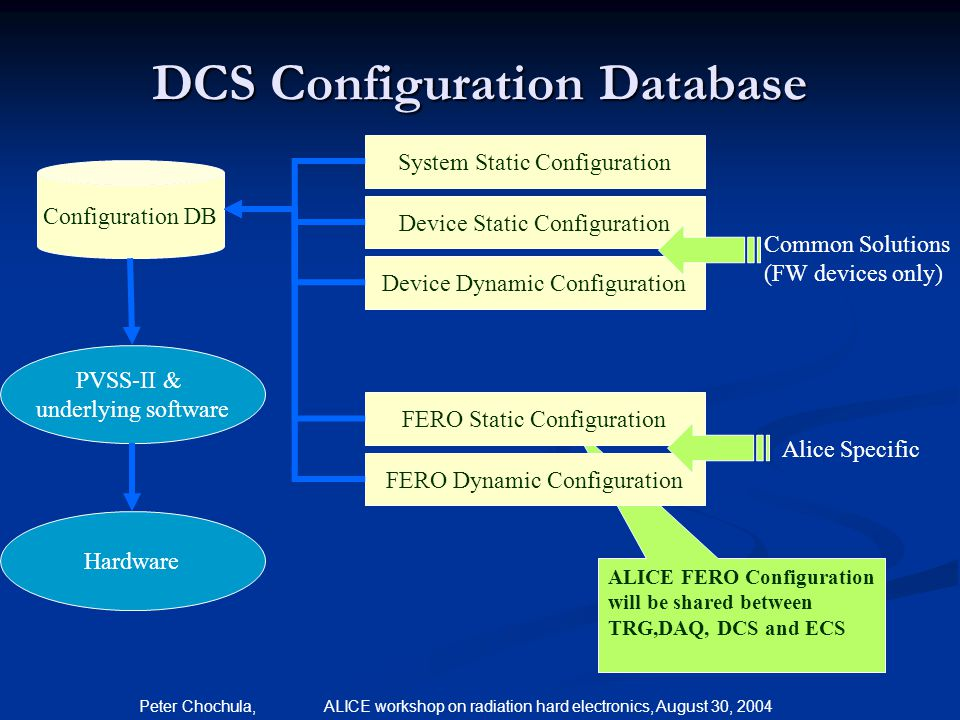 DCS Configuration Database