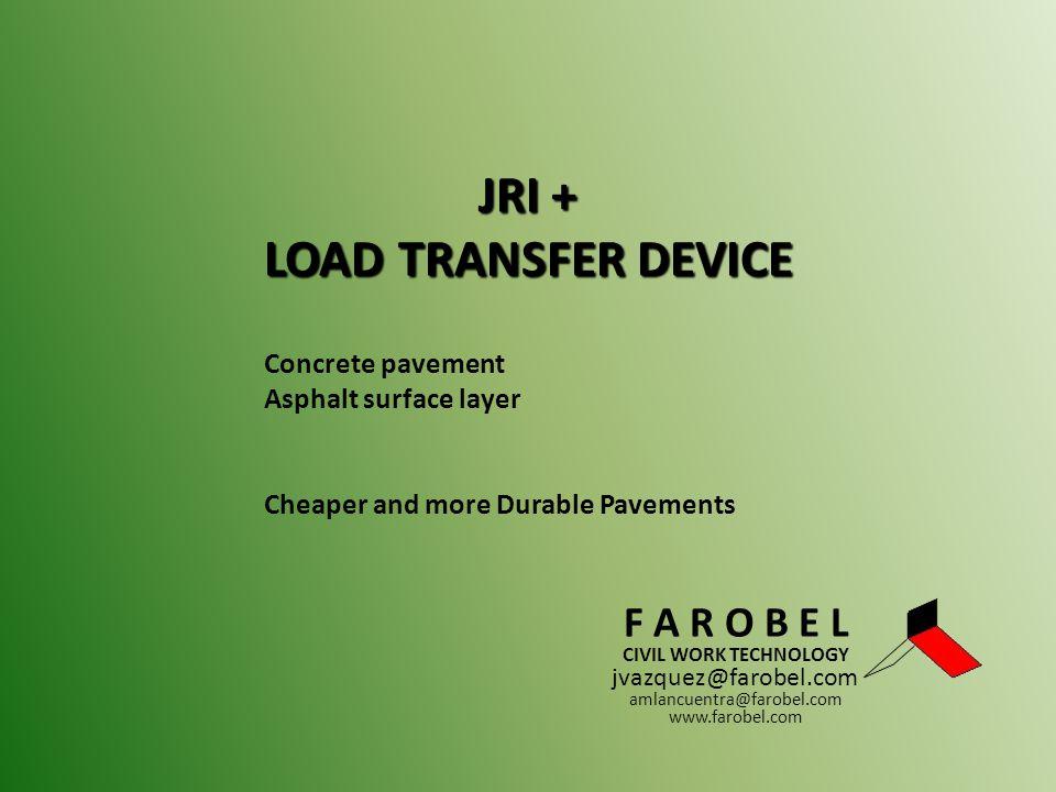 JRI + LOAD TRANSFER DEVICE