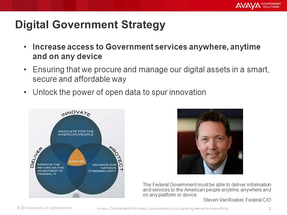 Digital Government Strategy