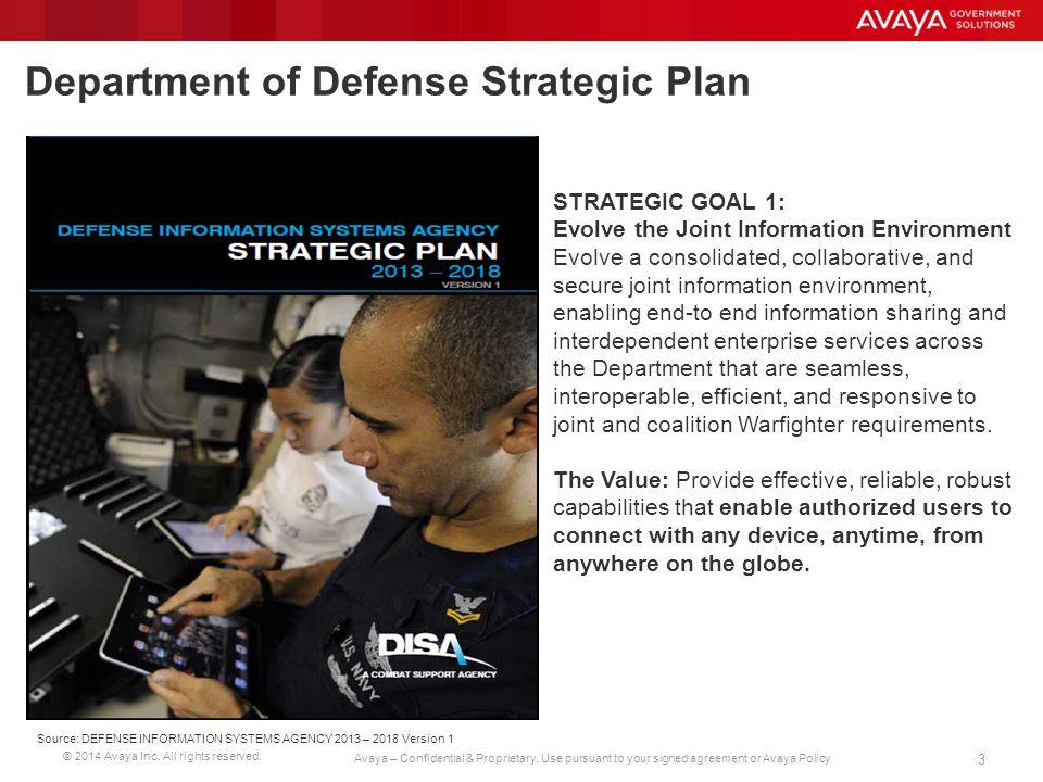 Department of Defense Strategic Plan