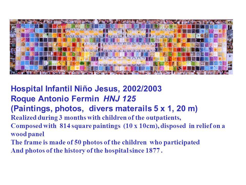 Hospital Infantil Niño Jesus, 2002/2003 Roque Antonio Fermin HNJ 125