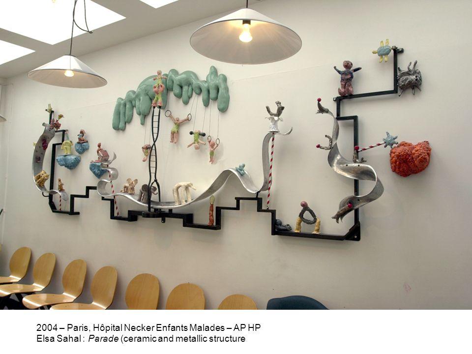 2004 – Paris, Hôpital Necker Enfants Malades – AP HP
