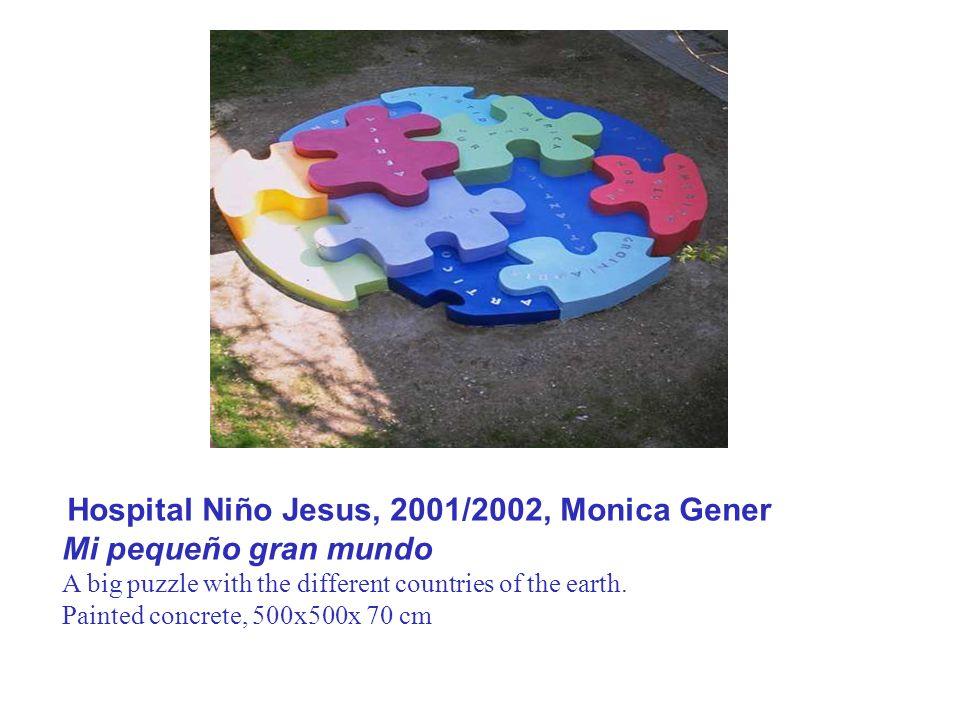 Hospital Niño Jesus, 2001/2002, Monica Gener