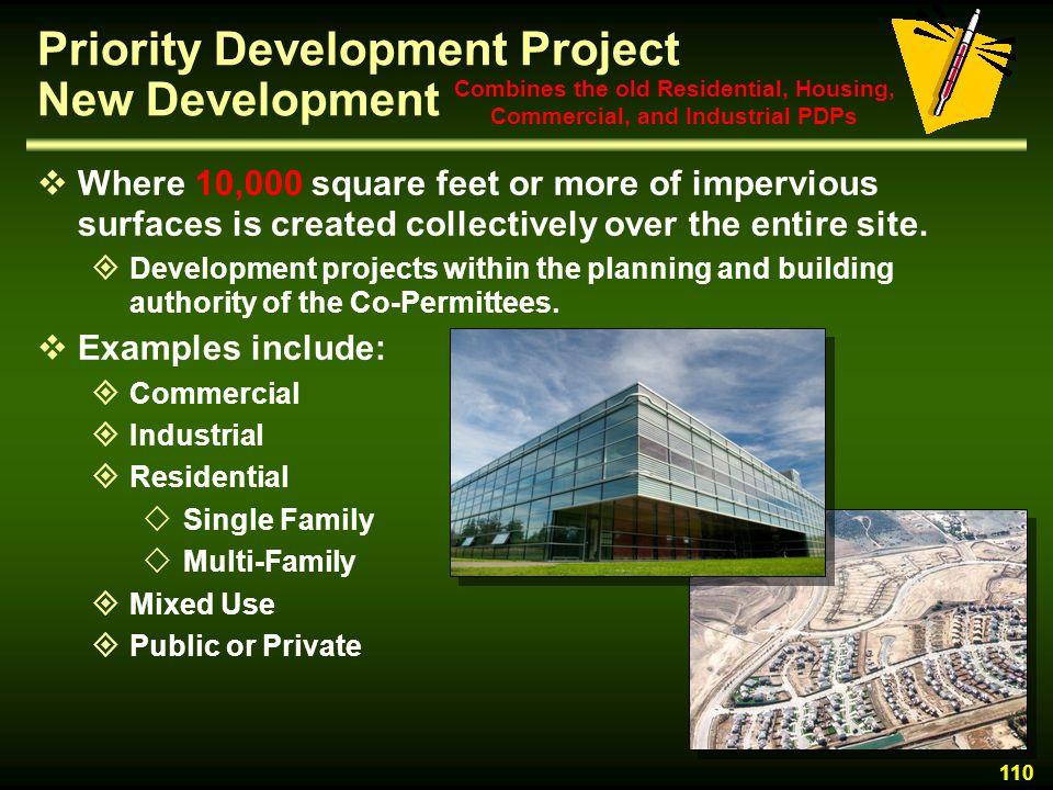 Priority Development Project New Development