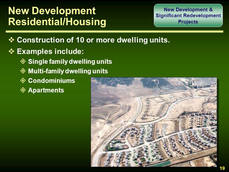 New Development Residential/Housing