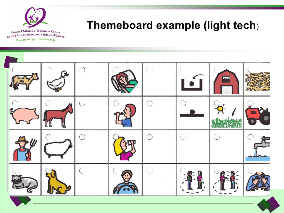 Themeboard example (light tech)