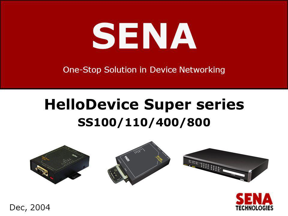 One-Stop Solution in Device Networking