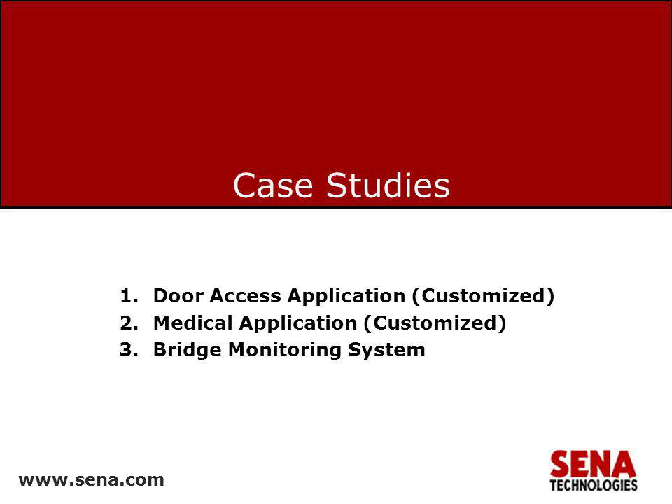 Case Studies Door Access Application (Customized)