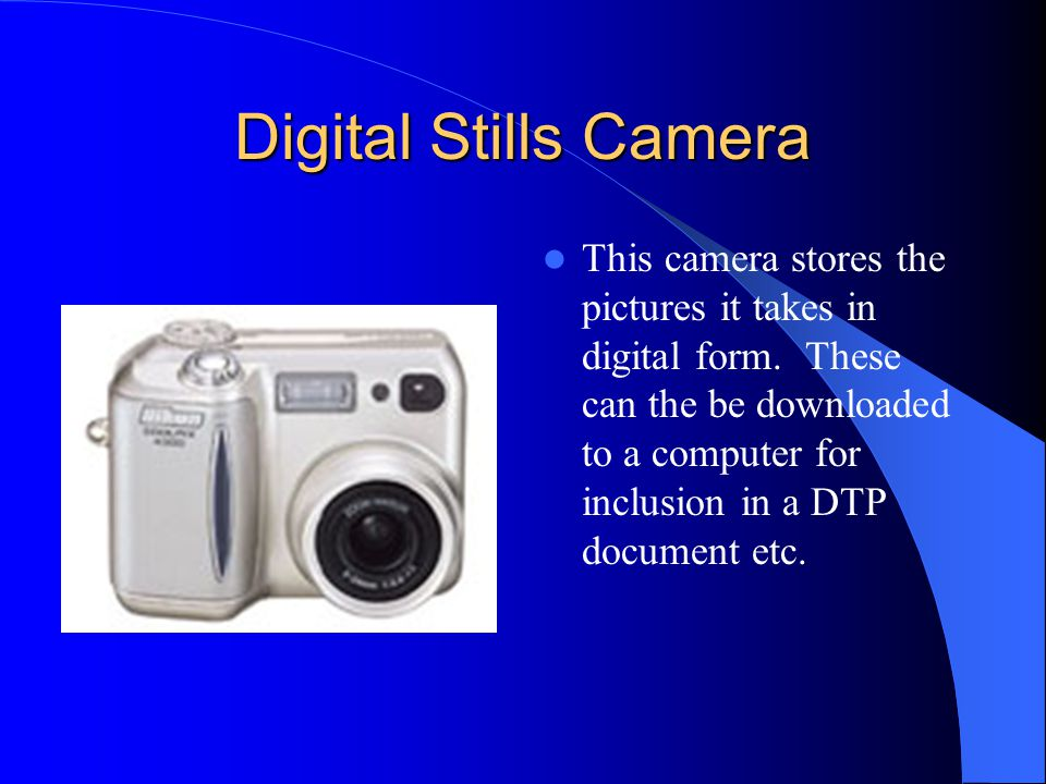 Digital Stills Camera