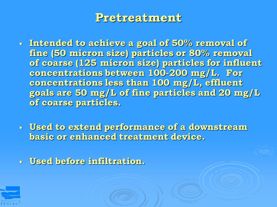 Pretreatment