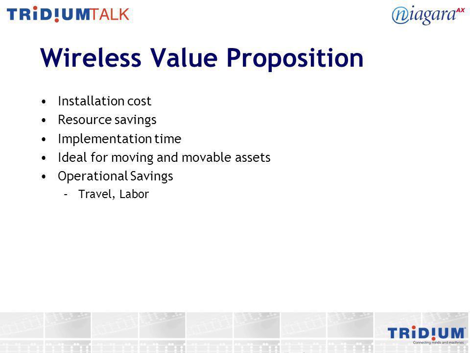 Wireless Value Proposition