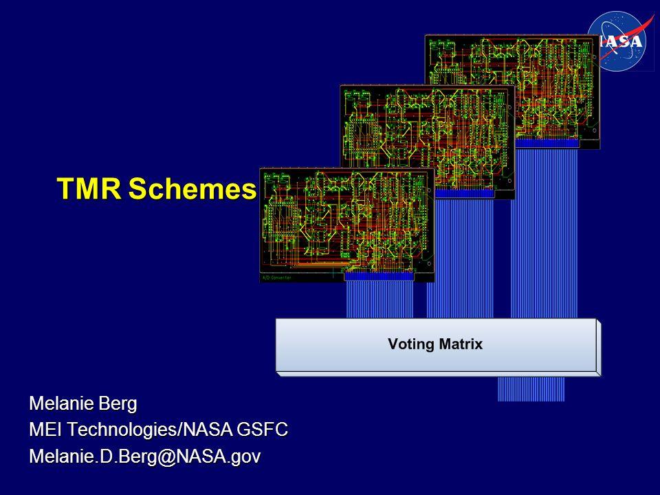 Melanie Berg MEI Technologies/NASA GSFC Melanie.D.Berg@NASA.gov