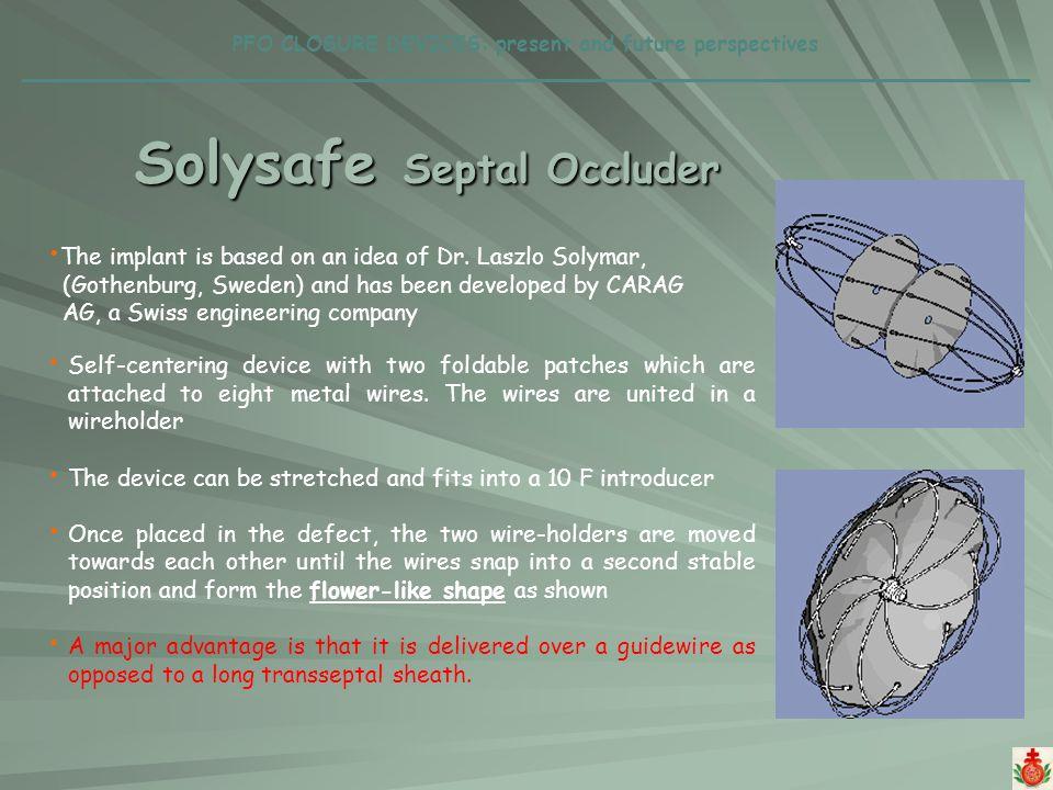 Solysafe Septal Occluder