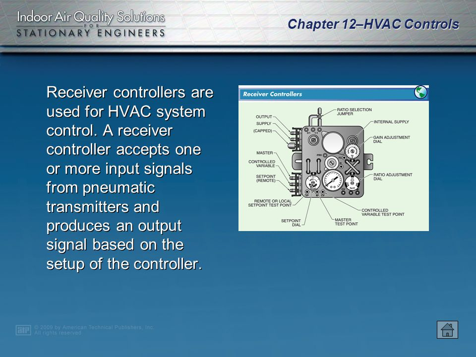 Receiver controllers are used for HVAC system control