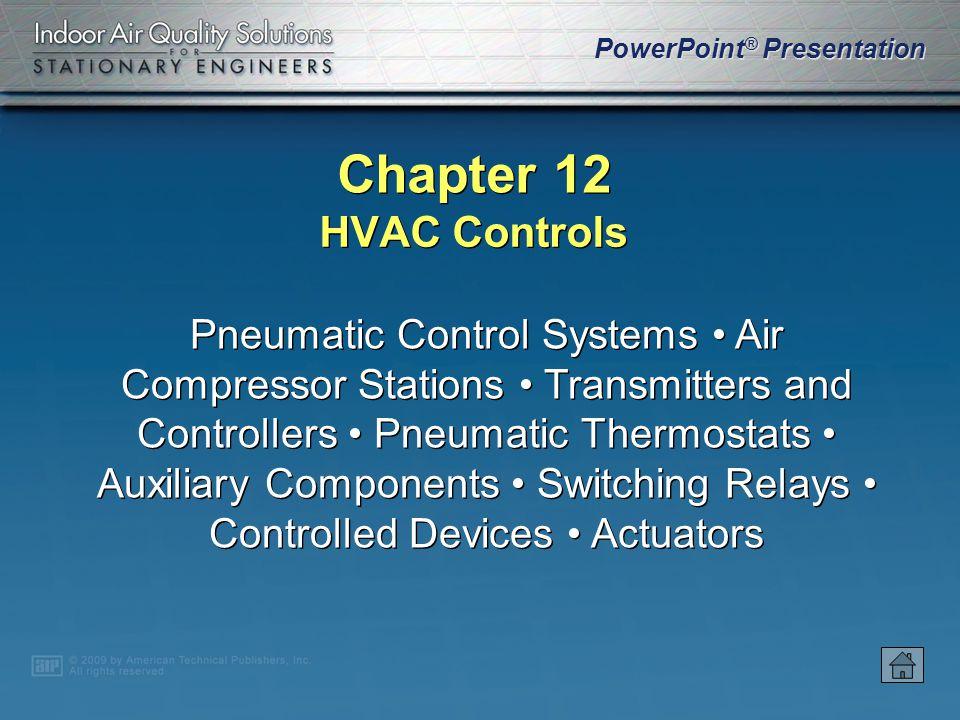 Chapter 12 HVAC Controls.