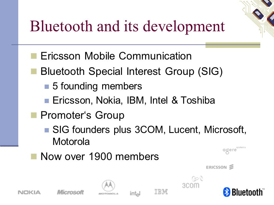 Bluetooth and its development