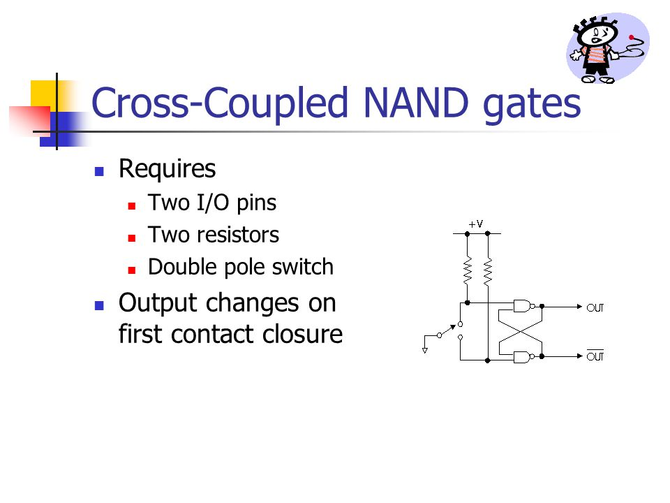 Cross-Coupled NAND gates