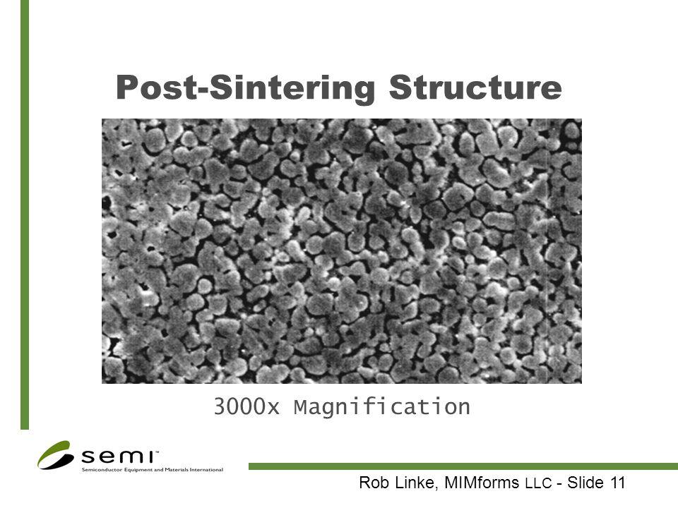 Post-Sintering Structure