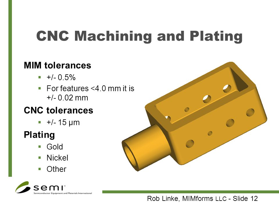 CNC Machining and Plating