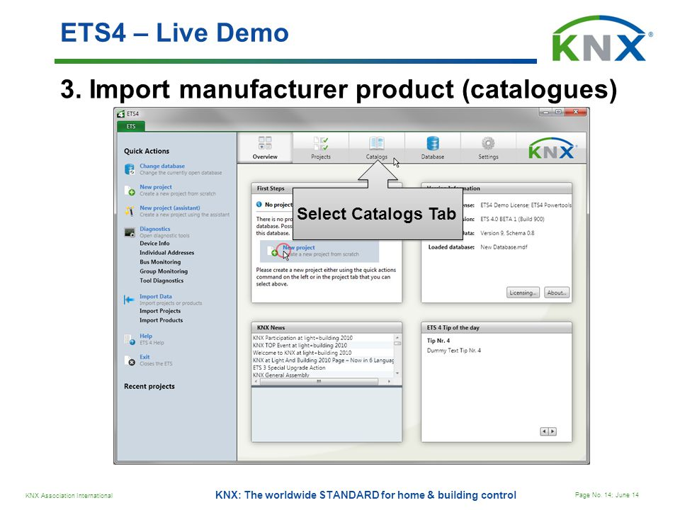 3. Import manufacturer product (catalogues)