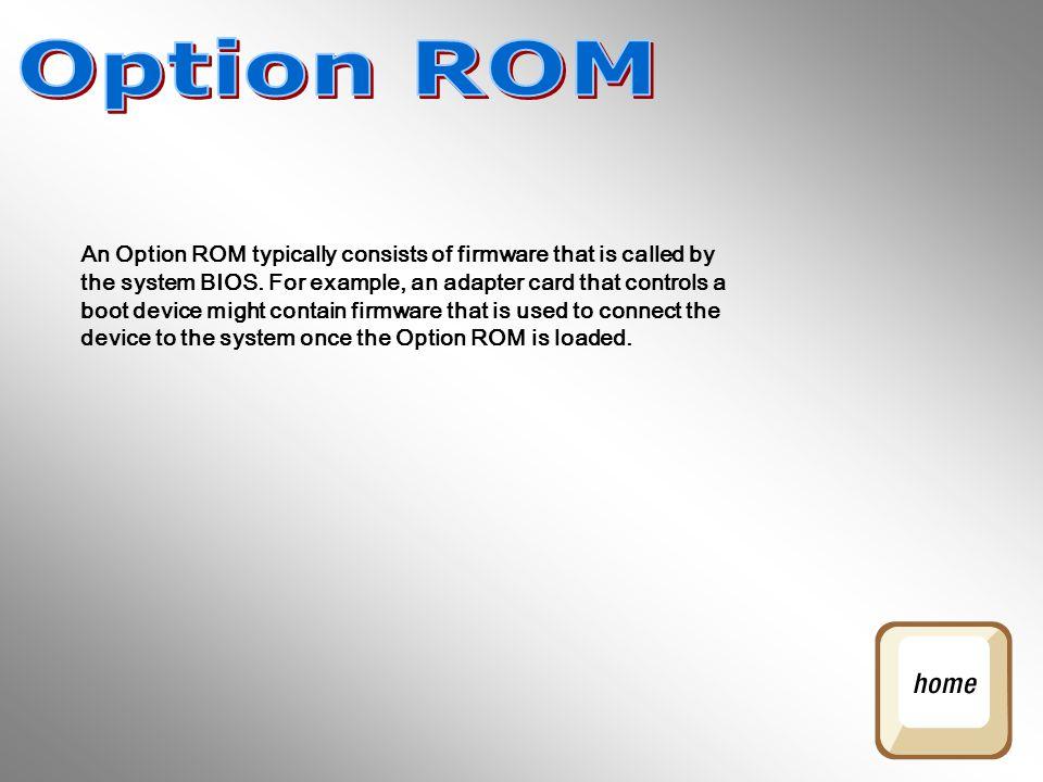 Option ROM
