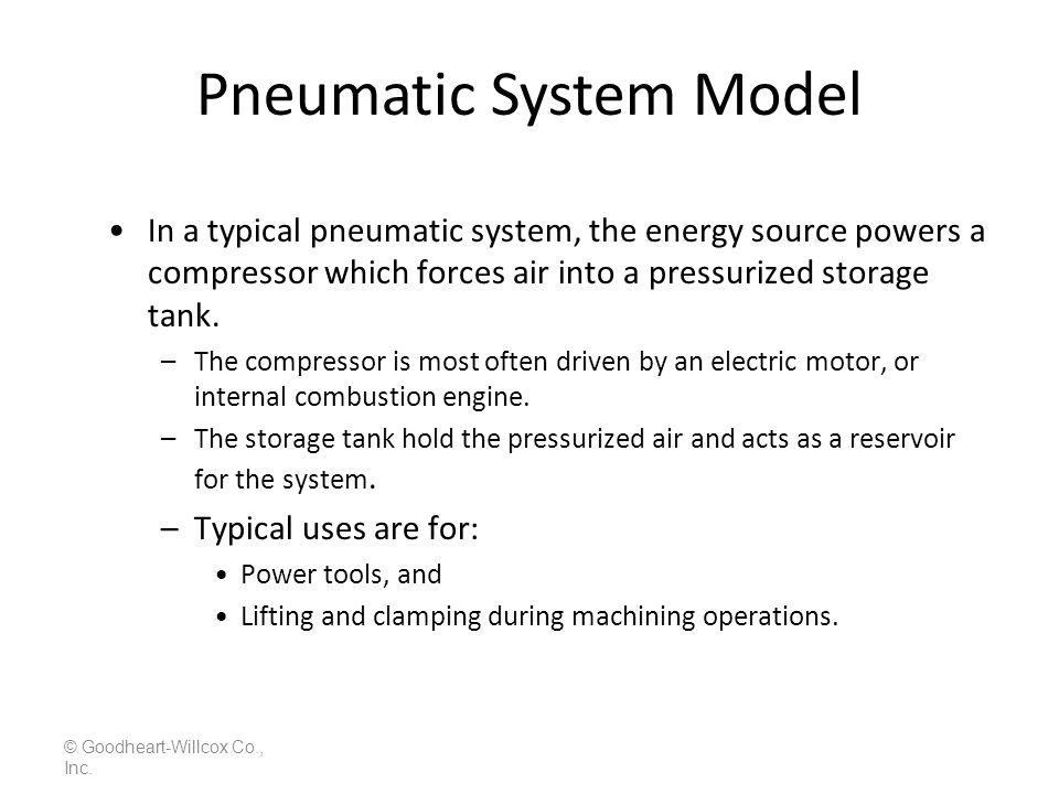 Pneumatic System Model
