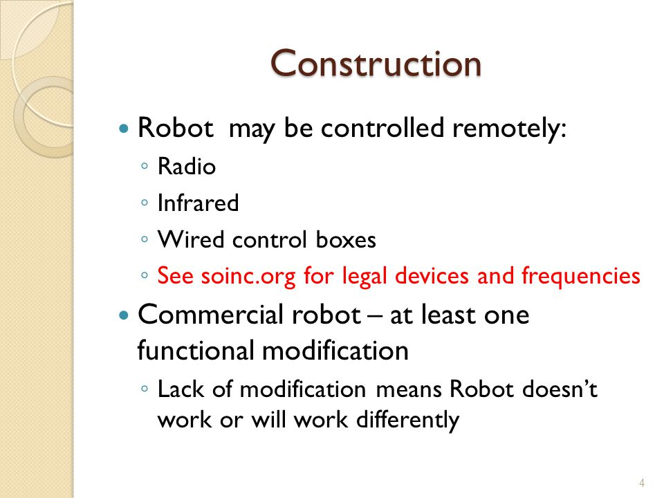Construction Robot may be controlled remotely: