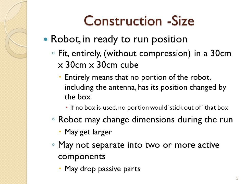 Construction -Size Robot, in ready to run position