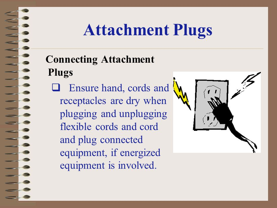 Attachment Plugs Connecting Attachment Plugs