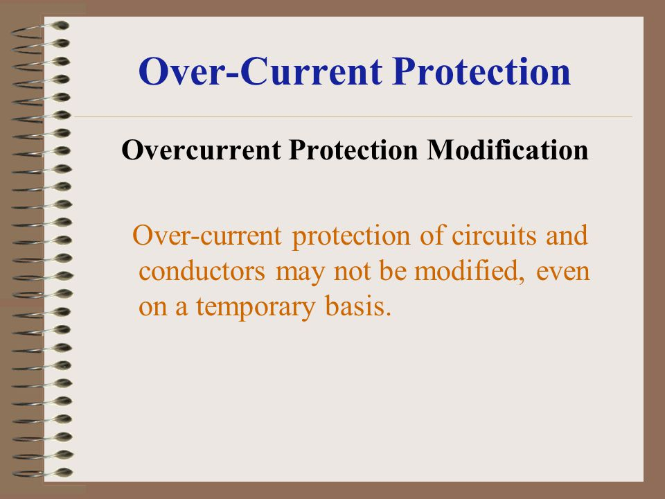 Over-Current Protection