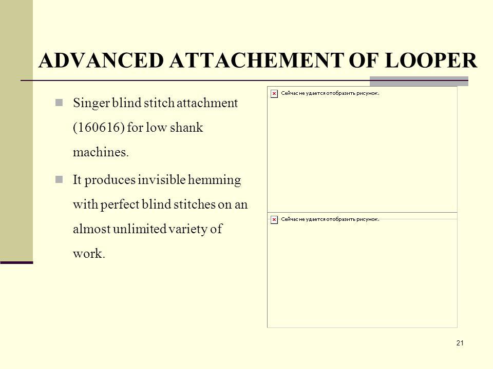 ADVANCED ATTACHEMENT OF LOOPER