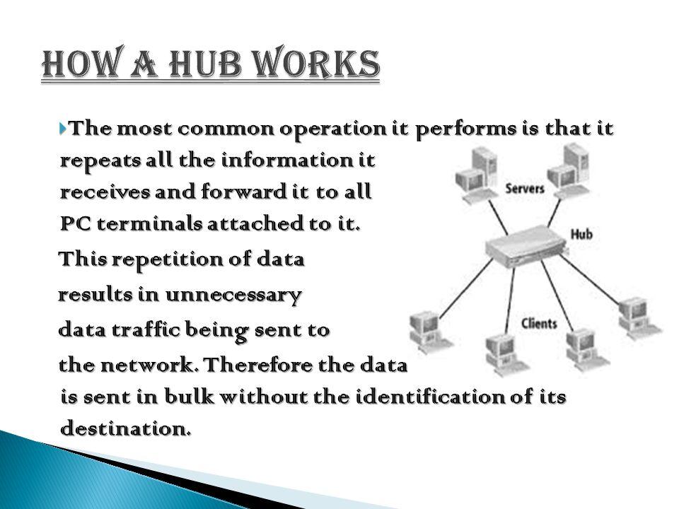 How a hub works