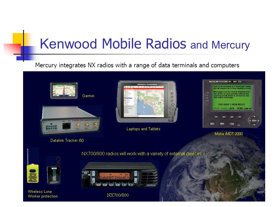 Kenwood Mobile Radios and Mercury