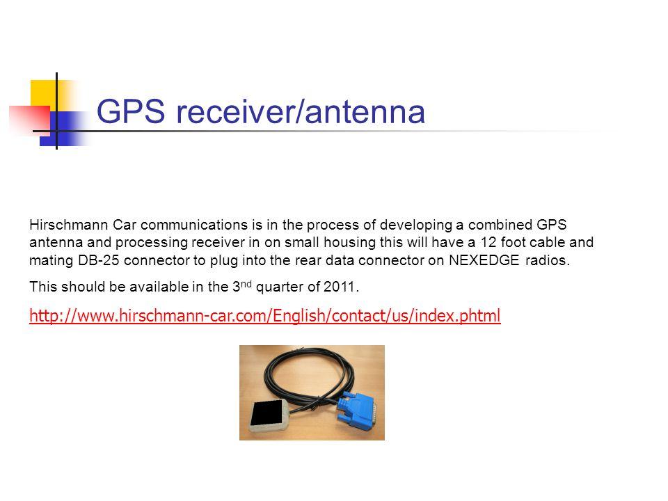GPS receiver/antenna