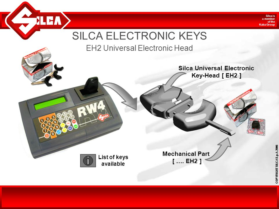 Silca Universal Electronic