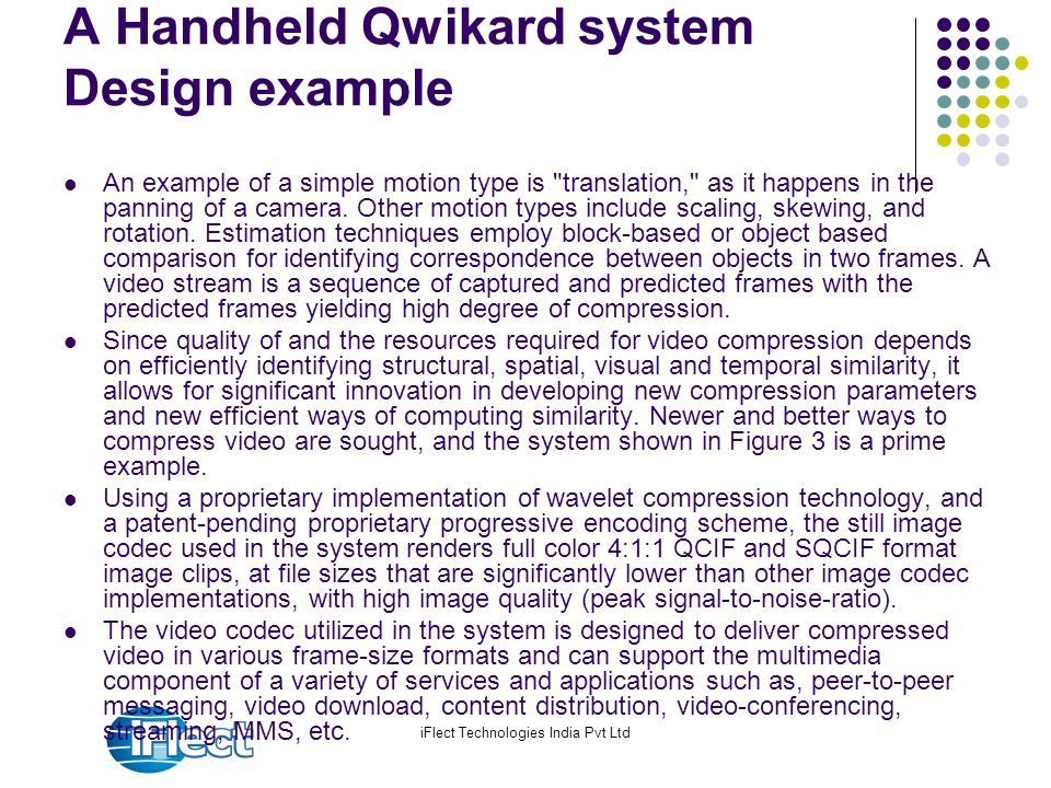 A Handheld Qwikard system Design example
