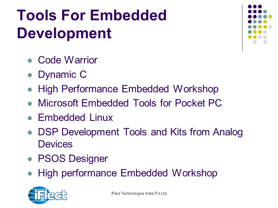 Tools For Embedded Development