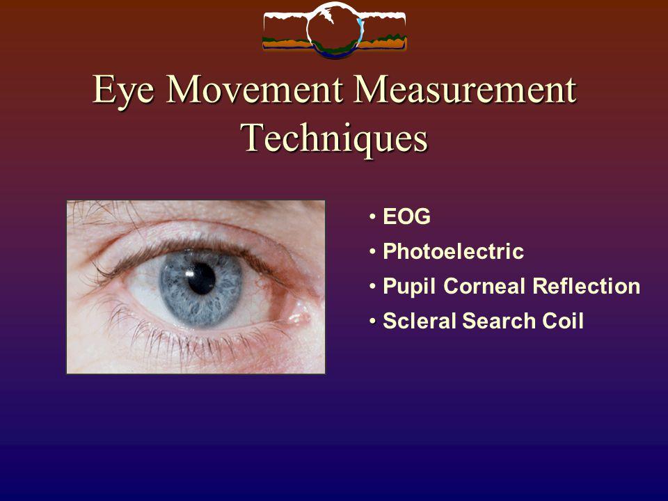 Eye Movement Measurement Techniques