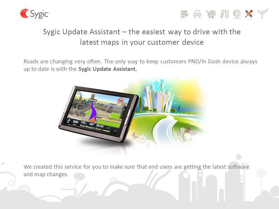 Sygic Update Assistant – the easiest way to drive with the latest maps in your customer device