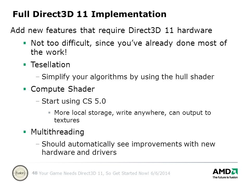 Full Direct3D 11 Implementation