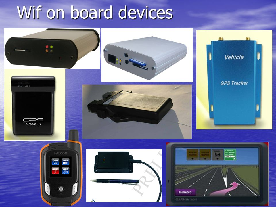 Wif on board devices