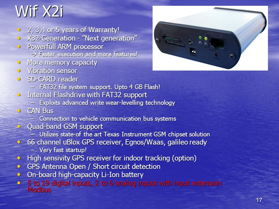 Wif X2i 2, 3,4 or 5 years of Warranty!
